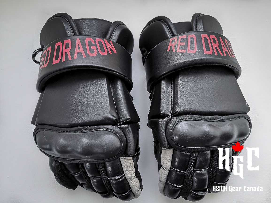Red Dragon Gloves Image